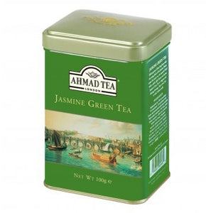 Jasmine Green Tea 100g Loose Leaf English Scene Caddy