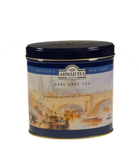 Earl Grey 100g Loose Leaf Heritage Scene Caddy