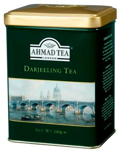 Darjeeling Tea 200g Loose Leaf English Scene Caddy