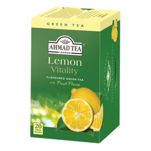 Lemon Vitality - Green Tea with Lemon 20 Teabags