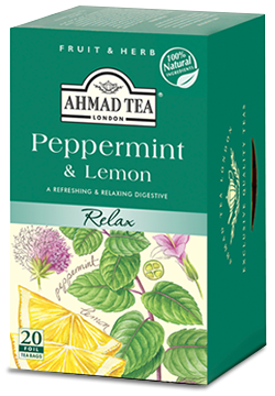 Peppermint & Lemon 20x2g Herbal Teabags