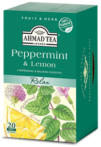 Peppermint & Lemon - 20 Herbal Teabags