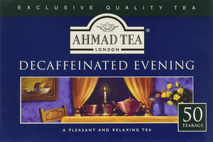 Decaffeinated Evening Tea 50x2g Teabags
