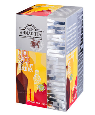 Chai Spice - 20 Contemporary Teabags