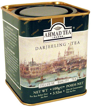 Darjeeling Tea 100g Loose Leaf English Scene Caddy