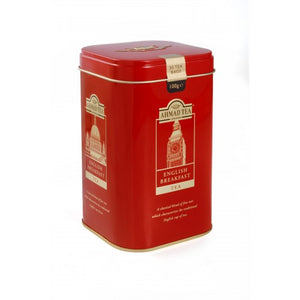 English Breakfast - 50 Classic Teabag Capital Caddy