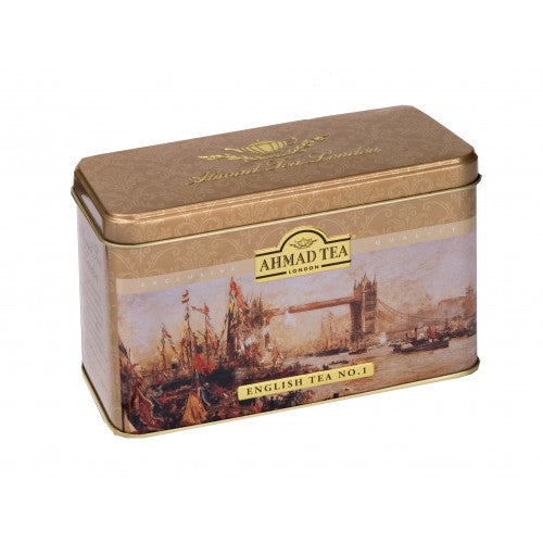English Tea No.1 - 20 Stay Fresh Foil Wrapped Teabag Heritage Caddy