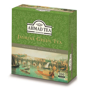 Jasmine Green Tea 100 Tagged Teabags