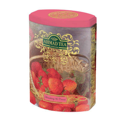 Strawberry Cream 100g Loose Leaf Fine Tea Collection