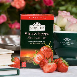 Strawberry Sensation - 20 Fruity Teabags