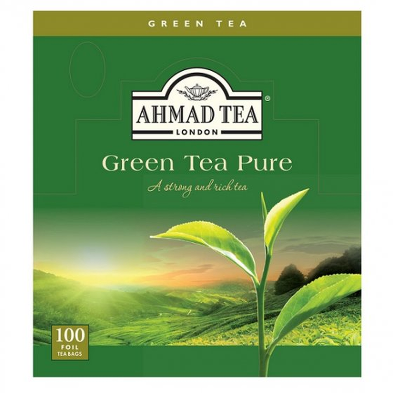 Green Tea Pure 100 Stay Fresh Wrapped Teabags