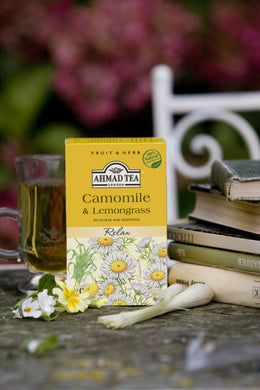 Camomile & Lemongrass 20x2g Herbal Teabags