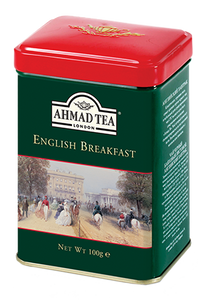 English Breakfast 100g Loose Leaf English Scene Caddy