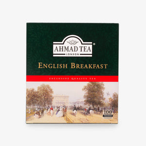 English Breakfast Tea 100 Tagged Teabags