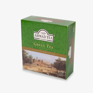 Green Tea 100 Tagged Teabags