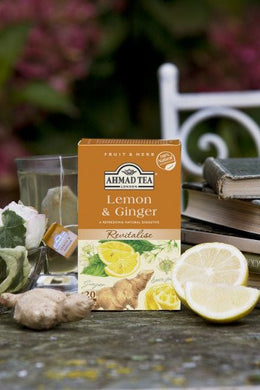 Lemon & Ginger Revitalise - 20 Herbal Teabags