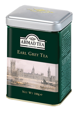 Earl Grey 100g Loose Leaf English Scene Caddy