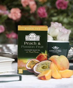 Peach &	Passion Fruit - 20 Fruity Teabags