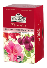 Rosehip, Hibiscus & Cherry- 20 Herbal Teabags
