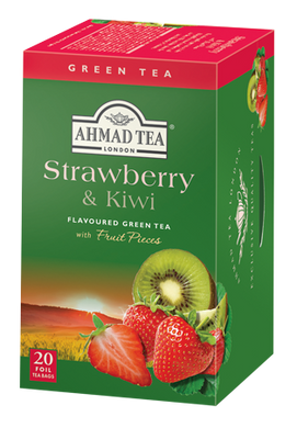Strawberry & Kiwi Green Tea 20 teabags