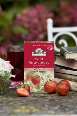 Refresh Wild Strawberry - 20 Herbal Teabags