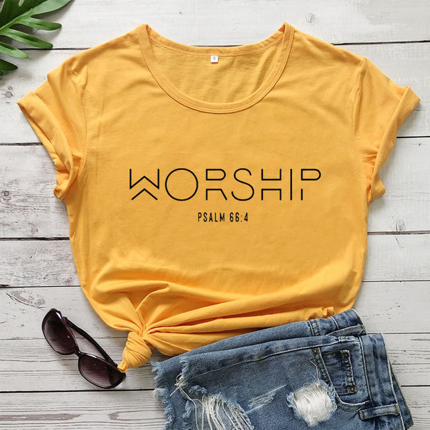 European And American Cotton Christian T-Shirt