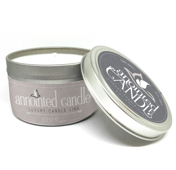 4oz Candle Travel Tin - Anointed Candles