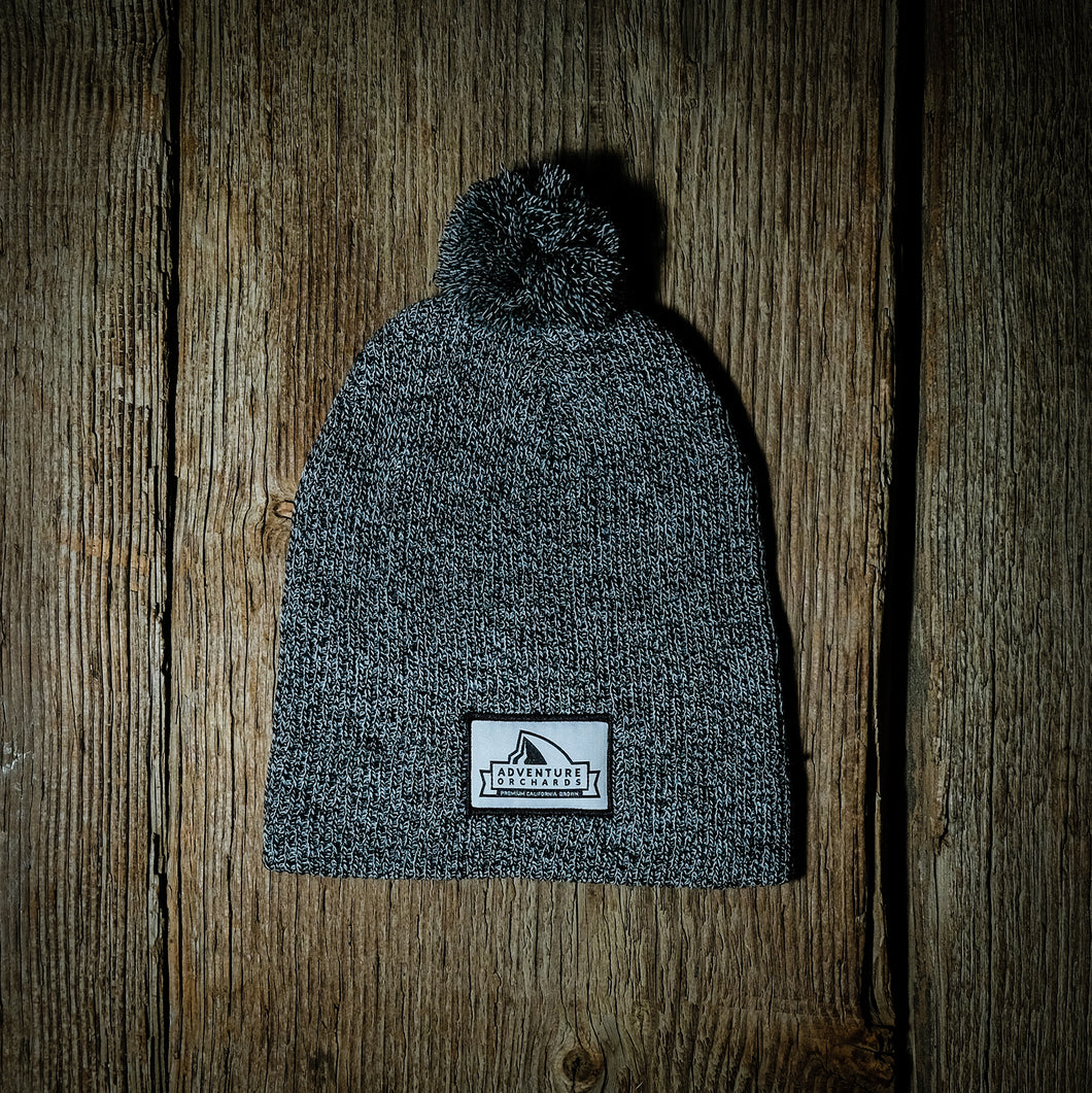 Adventure Orchards Cool Guy Slouch Beanie acrylic knit cashmere wool almonds almond butter milk half dome Yosemite