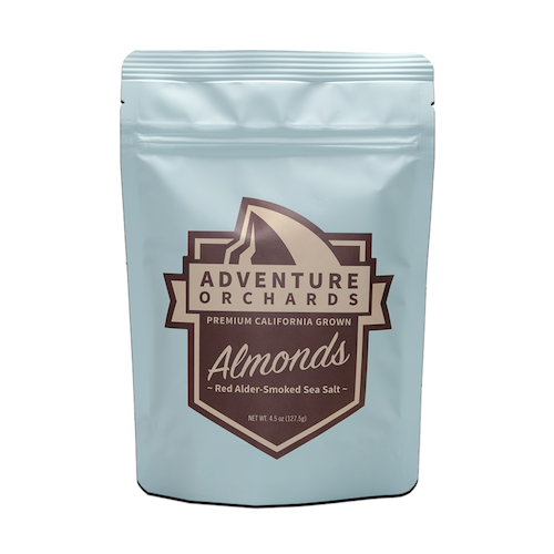 Red Alder Smoked Sea Salt Almonds