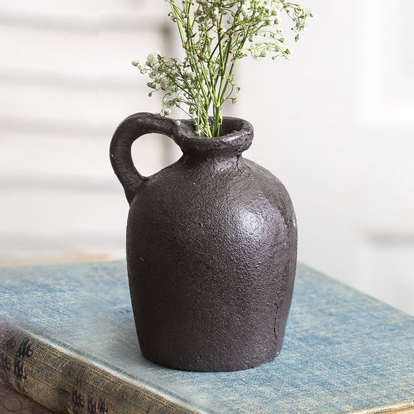 Small Cast Iron Jug Set of Two