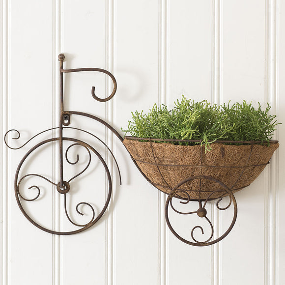 Bicycle Wall Planter