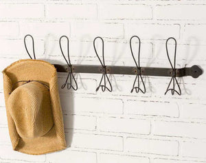 Brooklyn Black Coat Rack