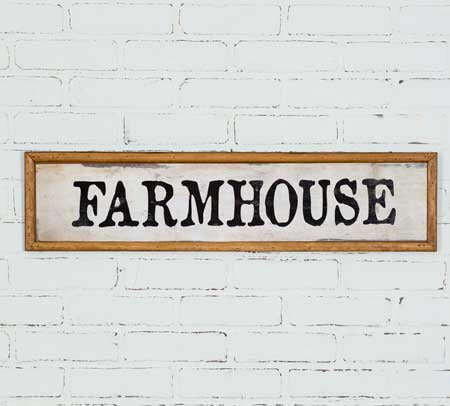 Farmhouse Wood Wall Sign