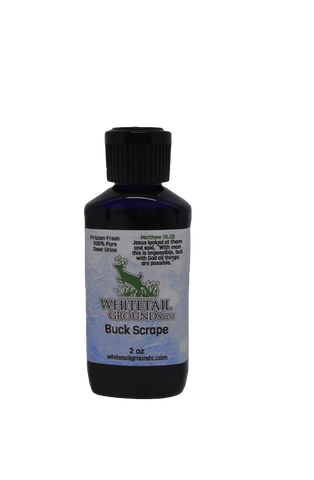 Buck Scrape Liquid - Whitetail Grounds