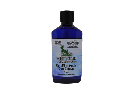 Certified Peak Doe Estrus Liquid 2oz. or 6oz.