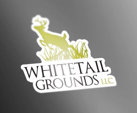 Whitetail Grounds Decal