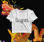 "Art Basel Official ""Palm Tree"" Women's Crop Top"