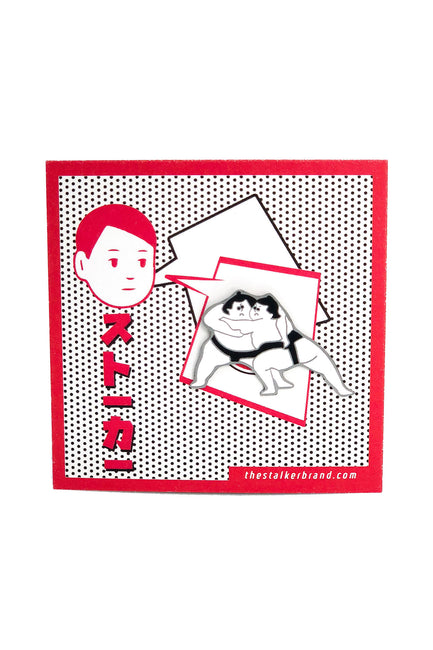Sumo Fighters Pin