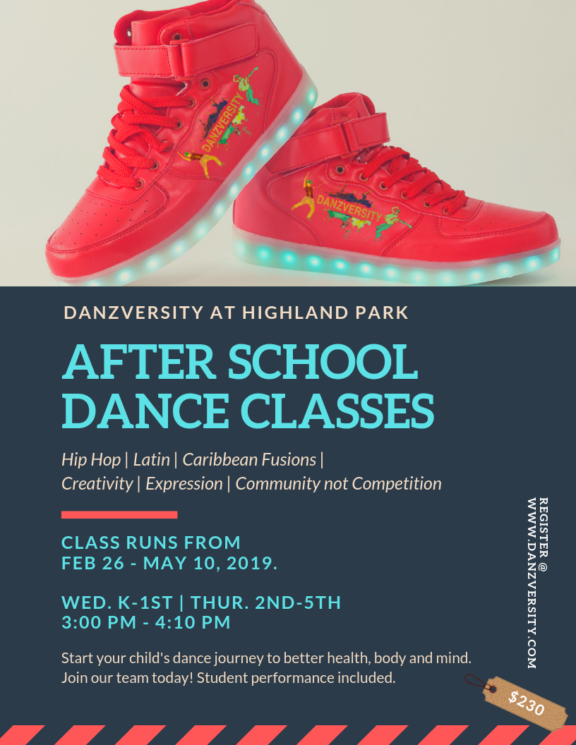 Highland Park After School Dance Program | Spring 2019  |  3:00 - 4:10 pm