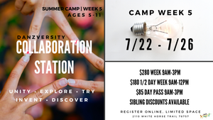 DANZVERSITY SUMMER CAMPS 2019 WEEK 5