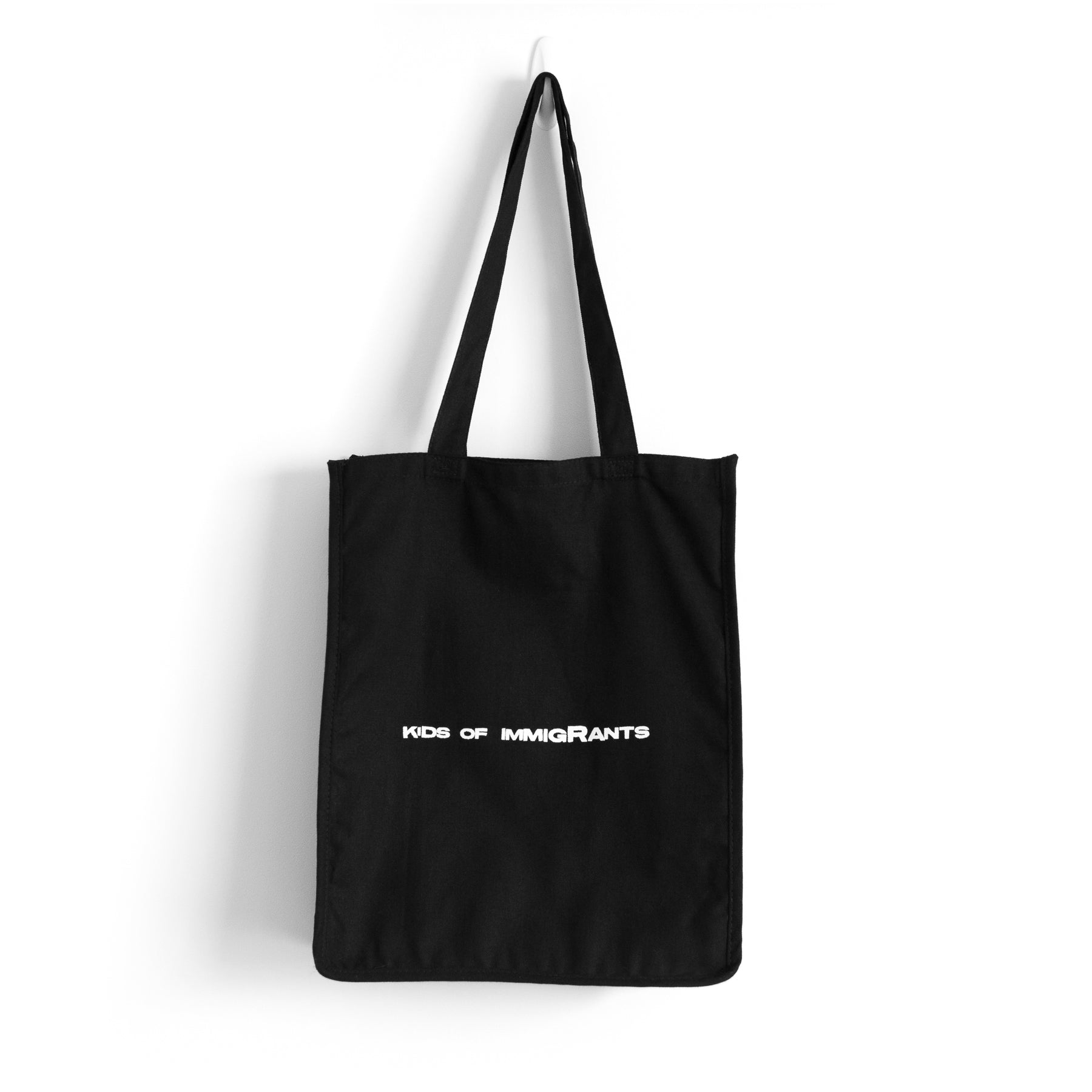 ONE WORLD ONE PEACE TOTE BAG - BLACK