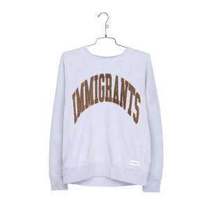 IMMIGRANTS SWEATER - LAVENDER