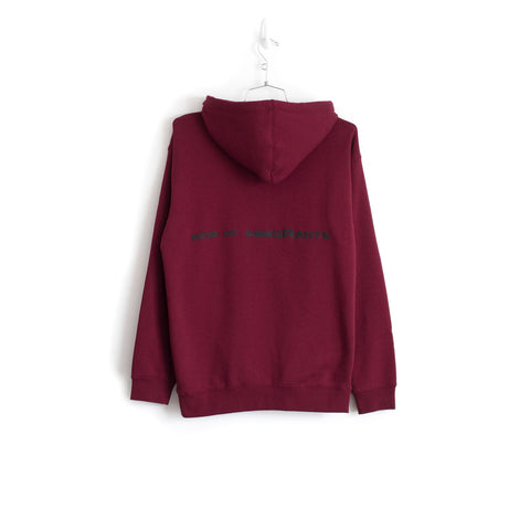 SUPPORT YOUR FRIENDS HOODIE - BURGUNDY