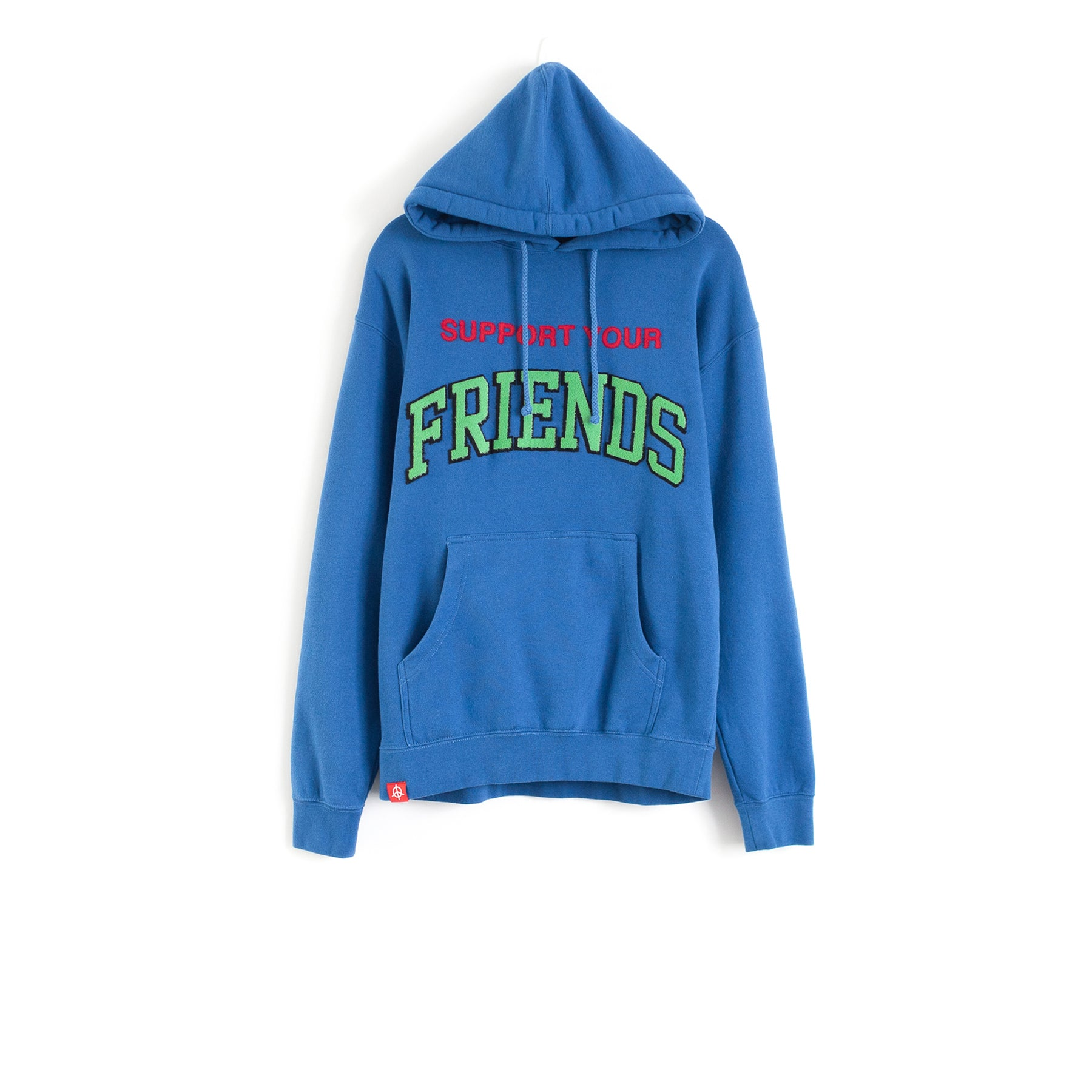 SUPPORT YOUR FRIENDS HOODIE - ROYAL BLUE