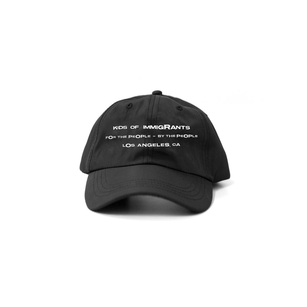 KIDS OF IMMIGRANTS HAT 2.0 - BLACK