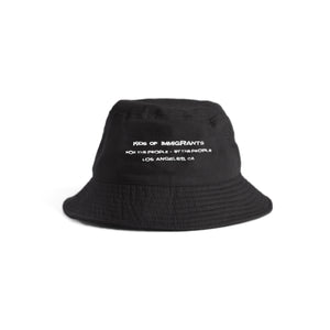 SUPPORT YOUR FRIENDS BUCKET HAT - BLACK MULTI