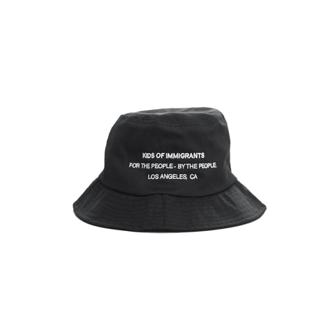 KIDS OF IMMIGRANTS BUCKET 2.0 - BLACK