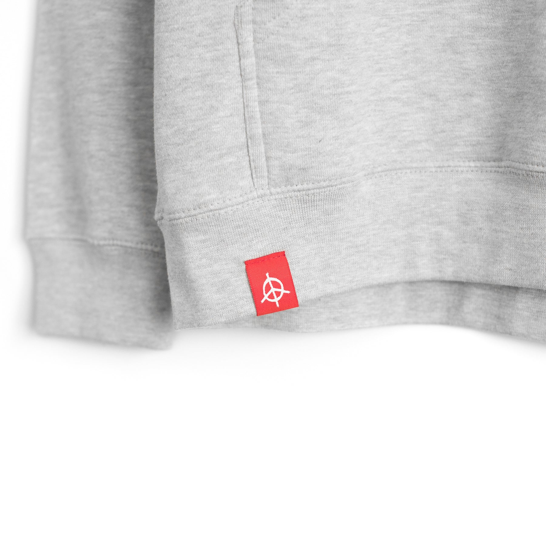 ANYTHING IS POSSIBLE ESSENTIAL HOODIE - ASH GREY