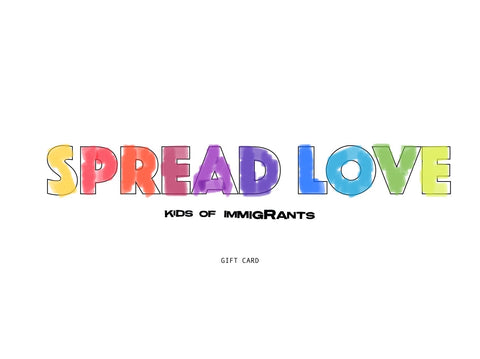 SPREAD LOVE GIVE CARD