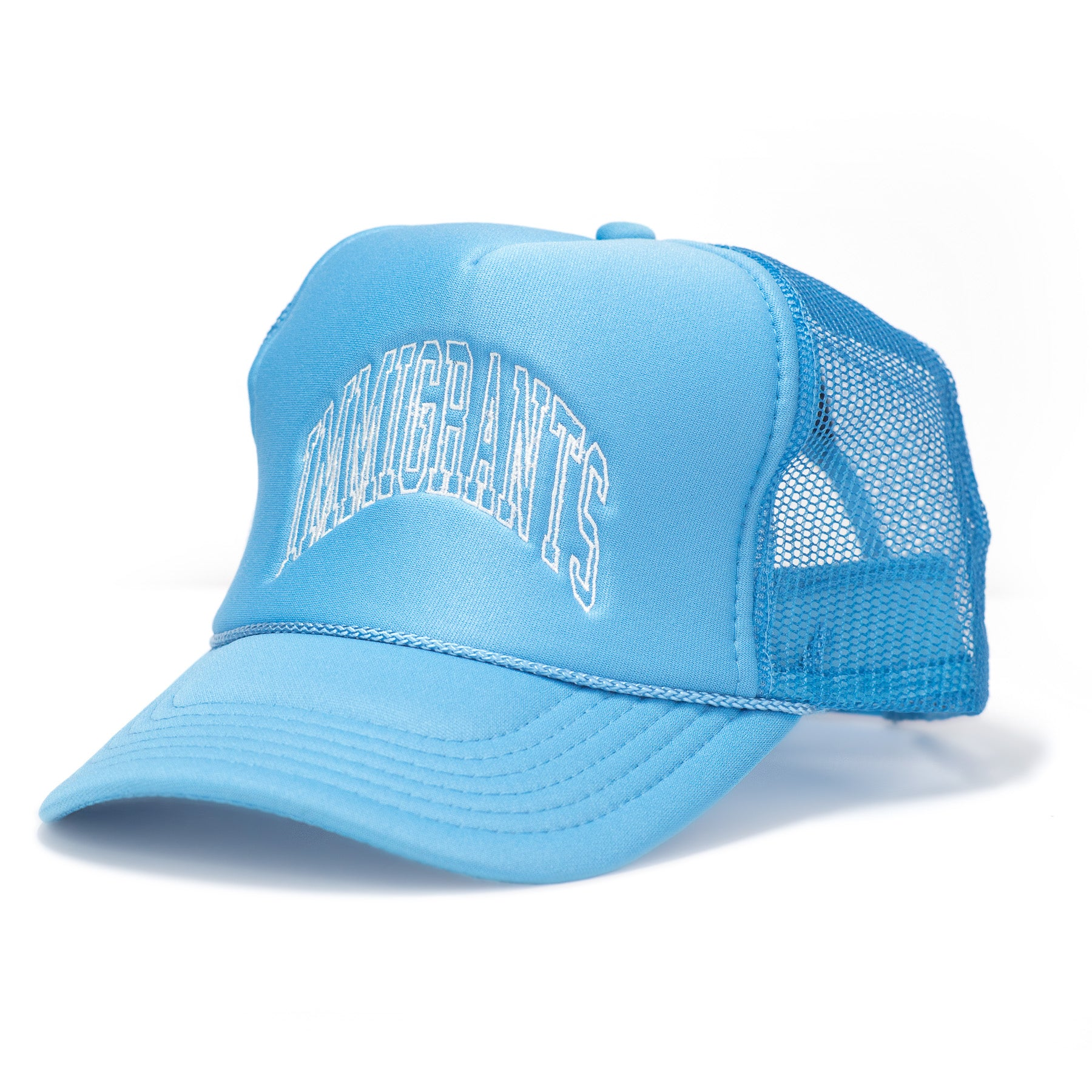 IMMIGRANTS TRUCKER HAT - BLUE